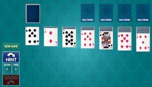 Kartenspiel Solitare